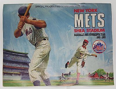 1969-new-york-mets-scorecard-program-vs-chicago-cubs-4-27-69-cleon-jones-hr